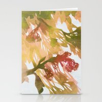 Morning Blossoms 2 - Olive Variation Stationery Cards