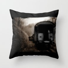 The Ghost Train II Throw Pillow