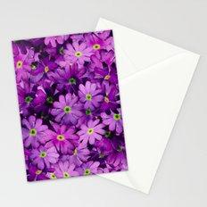 Purple Wild Flowers Stationery Cards