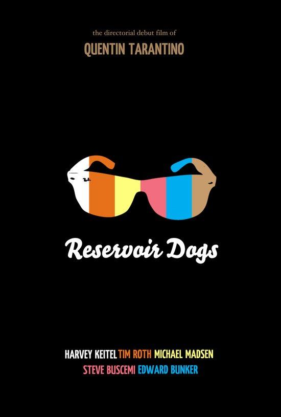 Minimal Reservoir Dogs Poster Art Print