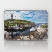 Moored at the Lighthouse Laptop & iPad Skin