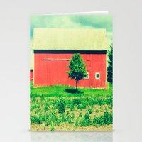 Nicholson Barn (2)  Stationery Cards