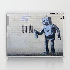 Banksy Robot (Coney Island, NYC) Laptop & iPad Skin