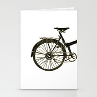 bicycle Stationery Cards featuring Bicycle by chyworks