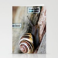 Snail :: Room with a View Stationery Cards