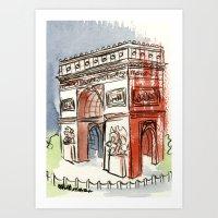 L'Arc De Triomphe Art Print