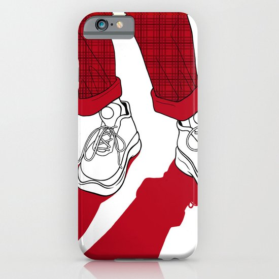 Rainbow Gossip - Red iPhone & iPod Case