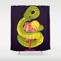 Viper on a Diet Shower Curtain