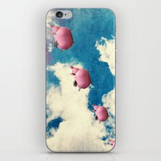 When Pigs Fly iPhone & iPod Skin
