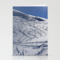 Tracks On Tincan Stationery Cards