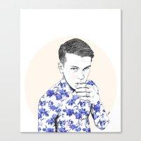 Inked #5 Canvas Print