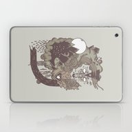 Laptop & iPad Skin featuring Leader Of The Pack by Hector Mansilla