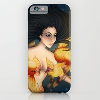 iPhone & iPod Case featuring Kingyo no Joō by Caz Lock