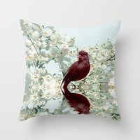 Spring Call Throw Pillow