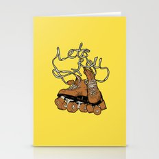 Let's roll Stationery Cards