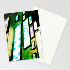 Neon Glow Stationery Cards