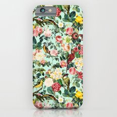 Floral and Birds III iPhone 6 Slim Case
