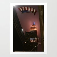 Blown Away | New York Ci… Art Print