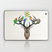 Deer Birds Laptop & iPad Skin
