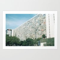 In Paris 1 Art Print