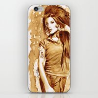 A Little Amy In My Coffe… iPhone & iPod Skin