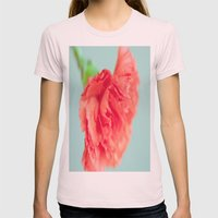 Refreshing Womens Fitted Tee Light Pink SMALL