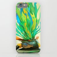 Feathered Tethridon iPhone 6 Slim Case