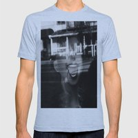 Face Mens Fitted Tee Athletic Blue SMALL