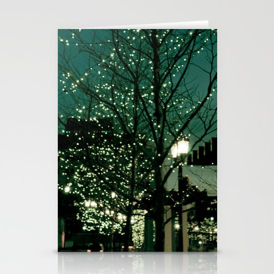 Twinkle Lights Stationery Card