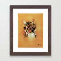 Devil Katz Framed Art Print
