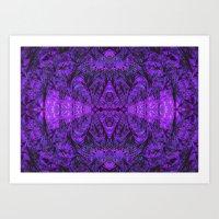 Violet Void Art Print