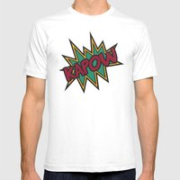 Kapow Mens Fitted Tee White SMALL