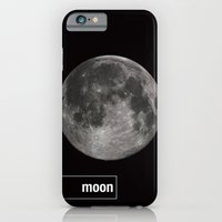 iPhone & iPod Case featuring Moon by jajoão