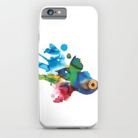 iPhone & iPod Case featuring COLORFUL FISH 2 by Hande Unver