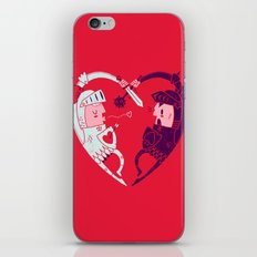 All Is Fair In Love And War iPhone & iPod Skin