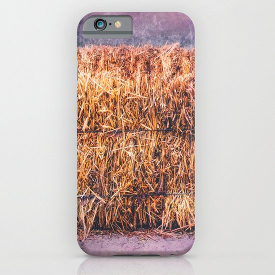 A TWIST ON HAY iPhone & iPod Case