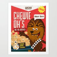 Chewy ohs Art Print
