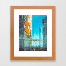 THIRTY-FIVE (everyday 06.20.16) Framed Art Print