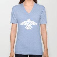 Thunderbird flag - Inverse edition version Unisex V-Neck