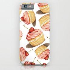 Pink Cupcake II Slim Case iPhone 6s