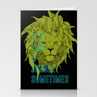 It's Like A Jungle Somet… Stationery Cards