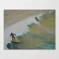 Surf San Diego Canvas Print
