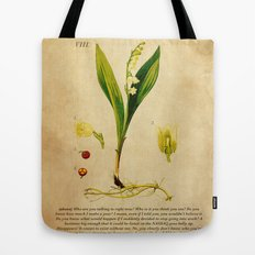 Breaking Bad - Lily of the Valley Tote Bag