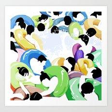 Pool2 Art Print