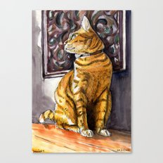 Cat Charlie Canvas Print