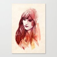 A Piece Of Happiness Canvas Print
