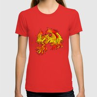 Phoenix Womens Fitted Tee Red SMALL