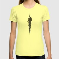 Deconstruction III (Sentinel) Womens Fitted Tee Lemon SMALL