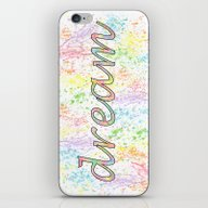 iPhone & iPod Skin featuring Dream - Colorful Inspira… by Janice Austin Design…
