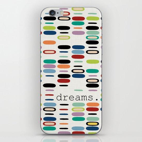 dreams. iPhone & iPod Skin